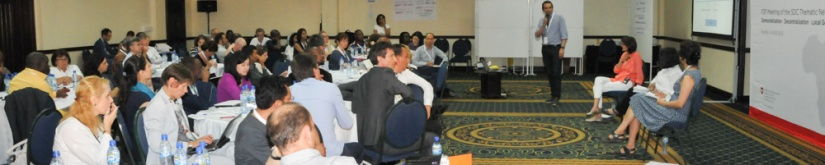 Resource persons and competence centersinvolved
